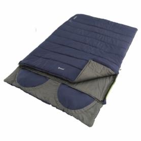 Мешок спальный (спальник) Outwell Contour Lux Double Reversible/-5°C Imperial Blue
