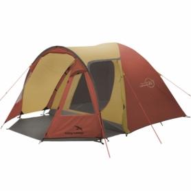Палатка четырехместная Easy Camp Corona 400 Gold Red (928295)