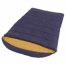 Мешок спальный (спальник) Easy Camp Moon Double/+5°C Blue (Right) (928328)