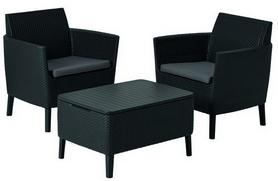Набор мебели Salemo balcony set Allibert (8711245145464), серый