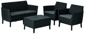 Набор мебели Salemo set Allibert (8711245145297), серый