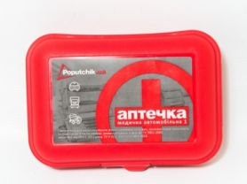Аптечка автомобильная в пластиковом футляре CDRep (FO-103851)