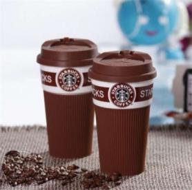 Чашка керамическая кружка Starbucks Brown CDRep (FO-104574) - коричневая, 0,35 л