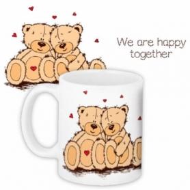 """Чашка CDRep """"Люблю тебя, мой Тедди"""""""