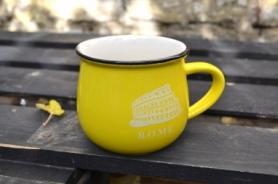 Чашка кувшин City Zakka CDRep (FO-110107) - желтая, 0,25 л