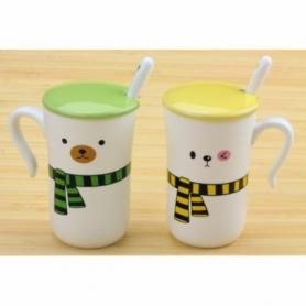 Чашки Happy everyday с шарфиками CDRep (FO-113041), 2 шт по 0,25 л