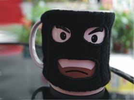 Чашка Бандит Mugga Mug CDRep (FO-113158), 0,3 л