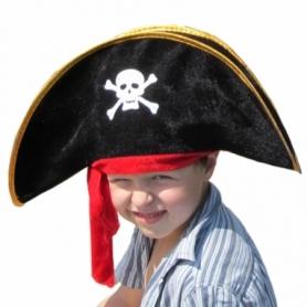 Шляпа Пирата с повязкой детская CDRep (FO-114680)