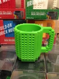 Кружка брендовая Lego CDRep Green (FO-115611), 350 мл