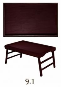 Столик для Завтрака CDRep (FO-116908), коричневый