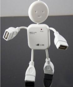 USB хаб CDRep Человечек (FO-119464)