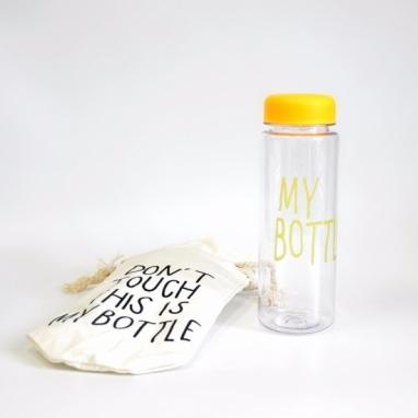 Бутылка My bottle CDRep (FO-120209) - желтая, 0,5л