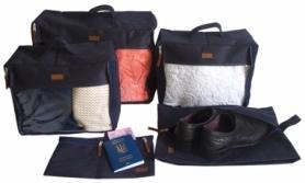 Набор дорожных сумок CDRep (FO-122104) - синий, 5шт