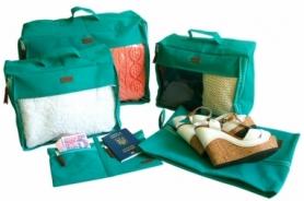 Набор дорожных сумок CDRep (FO-122106) - бирюзовый, 5шт