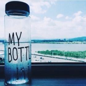 Бутылка My bottle CDRep (FO-122468) - синий, 0,5л - Фото №2