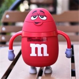 Термос детский с трубочкой M&Ms CDRep (FO-123819) - красный, 0,25 л