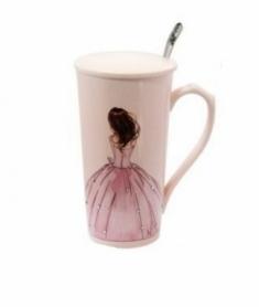 Чашка керамическая Принцесса CDRep (FO-123926), 0,4 л