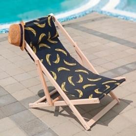 Шезлонг складной для пляжа и бассейна CDRep Бананы (FO-123958)