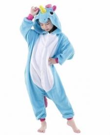 Кигуруми детское CDRep Единорог (голубой) (FO-124050), 110 см