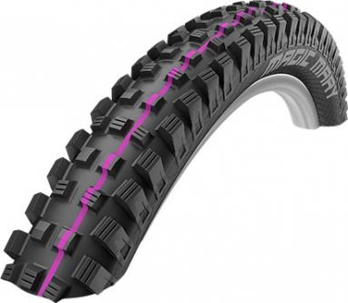 Покрышка велосипедная 27.5x2.60-650B (65-584) Schwalbe MAGIC MARY Downhill B/B-SK HS447 Addix U-Soft