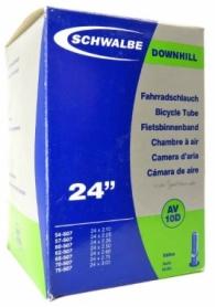 "Камера велосипедная 24"" (54/75x507) Schwalbe AV10D 40мм DOWNHILL EK"