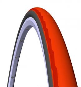 Покрышка велосипедная 700x23C (23-622) Mitas PHOENIX R01 Racing Pro черно-красная