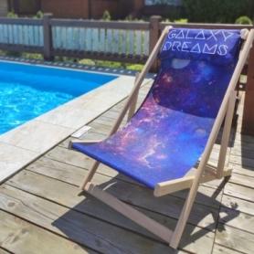 Шезлонг складной для пляжа Galaxy dreams (FO-124682)