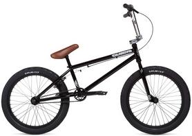 "Велосипед BMX Stolen Casino рама - 20.25"" 2020 Black & Chrome Plate - 20"" (SKD-48-24)"