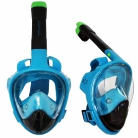 Маска для снорклинга SportVida SV-DN0022 Black/Blue, L/XL