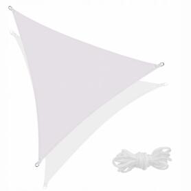 Тент-парус теневой для дома, сада и туризма Springos SN1017 Grey, 3x3x3 м