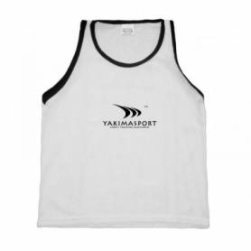 Манишка тренировочная Yakimasport Sr (100197), белая