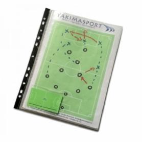 Блокнот для футбольного тренера Yakimasport (100240), 210х297 мм