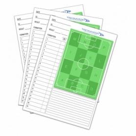 Блокнот для записей с футбольным полем Yakimasport (100279), 210х297 мм