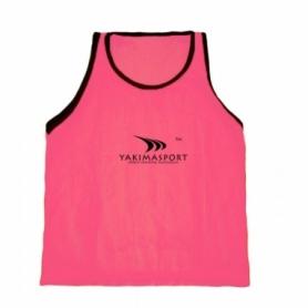Манишка тренировочная Yakimasport Sr (100263), розовая