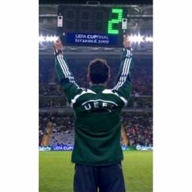 Табло футбольное электронное (двухстороннее) Yakimasport (100305)