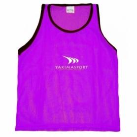 Манишка детская тренировочная Yakimasport Sr (100372), фиолетовая