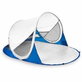 Палатка пляжная (тент) Spokey Stratus 926784, бело-синяя