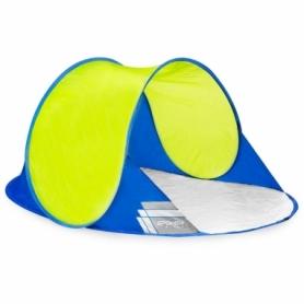 Палатка пляжная (тент) Spokey Stratus 926785, салатово-синяя