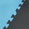 Мат-пазл (ласточкин хвост) 4Fizjo Mat Puzzle EVA 4FJ0156 Black/Grey/Light Blue, 180x180x1 cм - Фото №2
