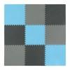 Мат-пазл (ласточкин хвост) 4Fizjo Mat Puzzle EVA 4FJ0156 Black/Grey/Light Blue, 180x180x1 cм - Фото №4