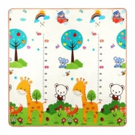 Коврик развивающий детский двухсторонний 4Fizjo Kids 4FJ0161, 180x180x1 см