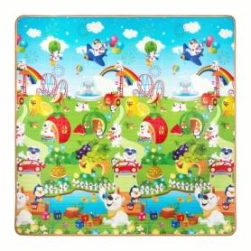 Коврик развивающий детский двухсторонний 4Fizjo Kids 4FJ0162, 180x180x1 см