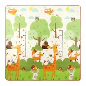 Коврик развивающий детский двухсторонний 4Fizjo Kids 4FJ0163, 180x180x1 см