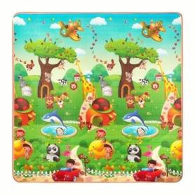 Коврик развивающий детский двухсторонний 4Fizjo Kids 4FJ0164, 180x180x1 см