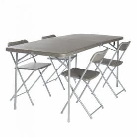 Стол складной Vango Orchard XL Table And Chair Set Grey (SN928212)