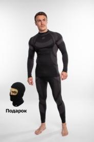 Комплект термобелья мужской спортивный Sesto Senso Active (SL71807181) - черный, XL