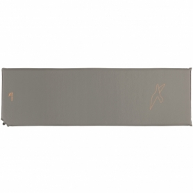 Коврик туристический Easy Camp Self-inflating Siesta Mat Single Grey (SN928483), 183x51x1,5 см