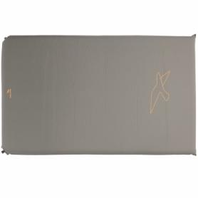 Коврик самонадувающийся Easy Camp Self-inflating Siesta Mat Double Grey, 193x120x5 см (928482)