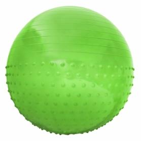 Мяч для фитнеса (фитбол) полумассажный SportVida Anti-Burst SV-HK0291 Green, 55 см