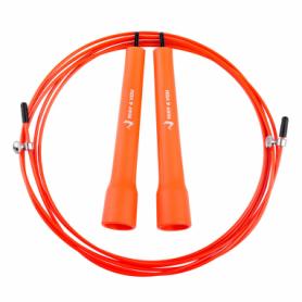 Скакалка скоростная Way4you Ultra Speed Cable Rope 2, оранжевая